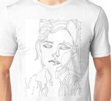 Woman Dissolved (Clothing) Unisex T-Shirt