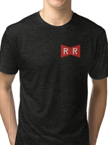 The Red Ribbon Army Symbol Tri-blend T-Shirt