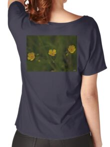 Three Meadow Buttercups - Burntollet Woods, County Derry Women's Relaxed Fit T-Shirt