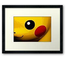 Pikachu Modern Art Framed Print