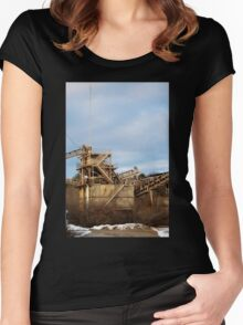 Mining Equipment and Conveyors 2 Women's Fitted Scoop T-Shirt