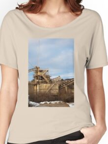 Mining Equipment and Conveyors 2 Women's Relaxed Fit T-Shirt