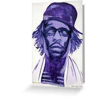 Wale Greeting Card