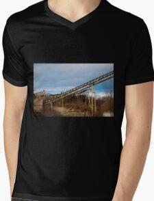 Mining Equipment and Conveyors 3 Mens V-Neck T-Shirt