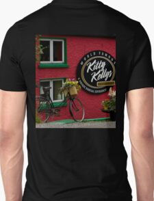 Kitty Kelly's restaurant, Donegal - wide Unisex T-Shirt