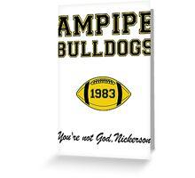 Ampipe Football Greeting Card