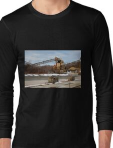Mining Equipment and Conveyors Long Sleeve T-Shirt
