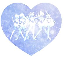 Sailor Moon - Galaxy Heart Blue by agShop