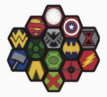Marvel DC Comic Superhero Crossover Megaverse Kids Clothes