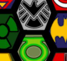 Marvel DC Comic Superhero Crossover Megaverse Sticker