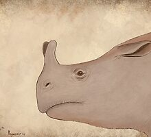 Megacerops sp. by synapsid