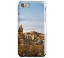 Princess Street Gardens Winter Market iPhone Case/Skin