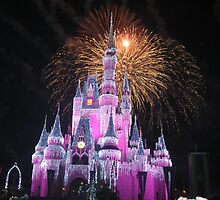 Disney Castle Disney Fireworks Disney Cinderella Disney Sleeping Beauty by notheothereye