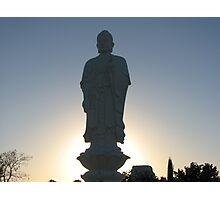 Standing Budda Photographic Print