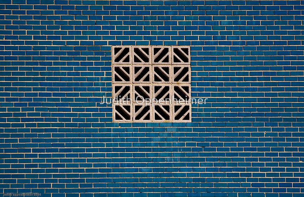 Blue Wall by Judith Oppenheimer