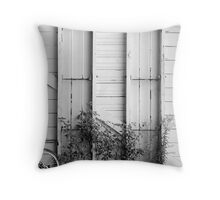 Barred view Throw Pillow