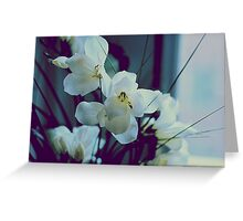 white oleander Greeting Card