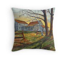 Drafty Old House Throw Pillow
