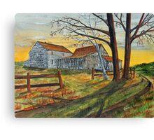 Drafty Old House Canvas Print