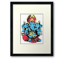 Vintage Ganesh T-shirt Framed Print