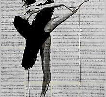 the black tutu by Loui  Jover