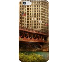 Chicago, IL - DuSable Bridge built in 1920  iPhone Case/Skin