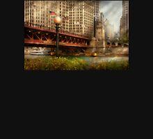Chicago, IL - DuSable Bridge built in 1920  Unisex T-Shirt