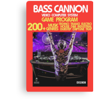2600 Bass Cannon Canvas Print