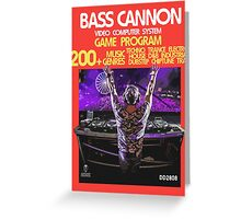 2600 Bass Cannon Greeting Card