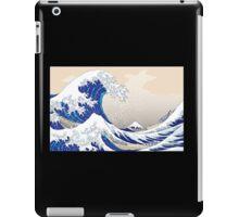 The Great Wave off Kanagawa - Hokusai iPad Case/Skin