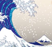 The Great Wave off Kanagawa - Hokusai Sticker