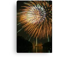 2007 Independence Day Fireworks Canvas Print