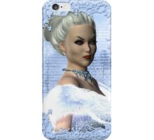 Portrait of the White Witch iPhone Case/Skin
