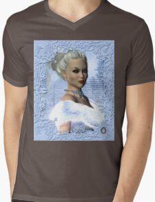 Portrait of the White Witch Mens V-Neck T-Shirt
