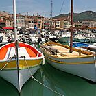 The boats of Cassis by Chris Allen
