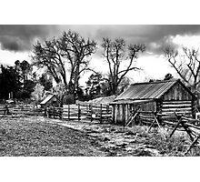 Fall Farm Photographic Print
