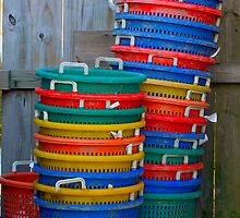 Rainbow of Baskets by Jason Anderson