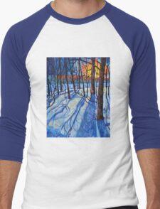 Flowerwood Men's Baseball ¾ T-Shirt