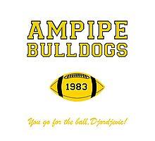 Ampipe Football Alternates Photographic Print