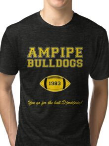 Ampipe Football Alternates Tri-blend T-Shirt