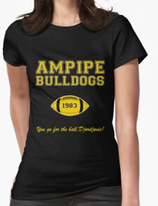 Ampipe Football Alternates Womens Fitted T-Shirt