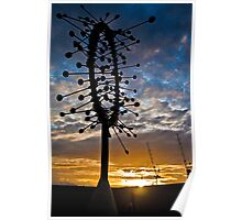 Docklands sunset Poster