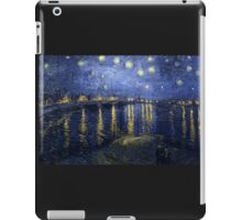 'Starry Night Over The Rhone' by Vincent Van Gogh (Reproduction) iPad Case/Skin