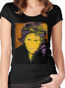Rough around the edges... Women's Fitted Scoop T-Shirt