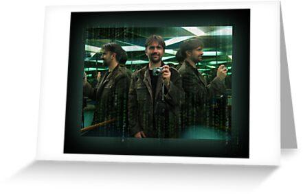 An Official Matrix Photographer, The Mugshot Of by Peter Kurdulija