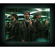 An Official Matrix Photographer, The Mugshot Of Photographic Print
