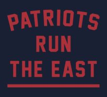 PATRIOTS RUN THE EAST by flexgawd