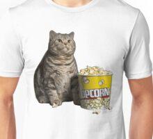 popcorn cat Unisex T-Shirt