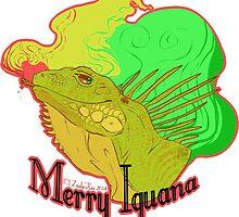 Merry Iguana by ZaelisXae