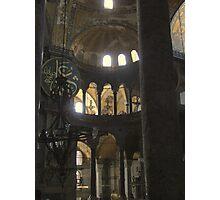 Hagia (Aya) Sophia, Istanbul Photographic Print